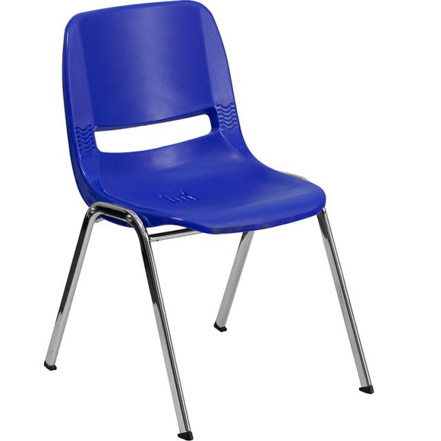 "HERCULES kids school chair 14"" chrome"