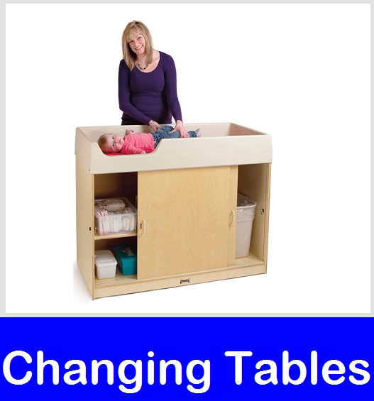 Diaper Changing Stations and Commercial Changing Tables at Daycare Furniture Direct.