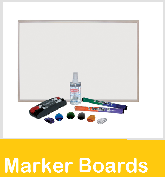 marker magnetic porcelain boards
