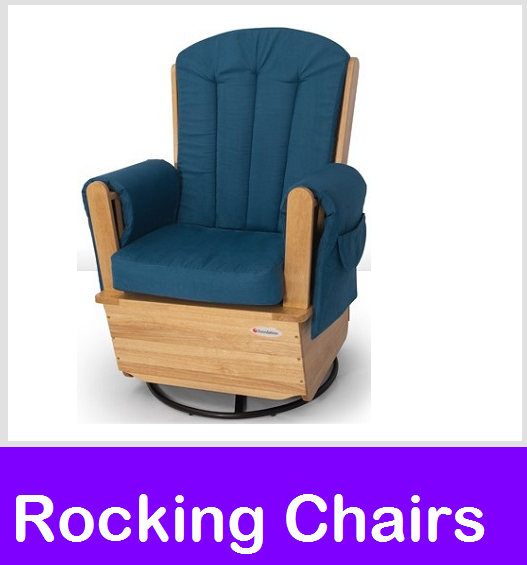Rocking Glider Chairs, Angeles Swivel Rockers, Angeles Deluxe Gliders